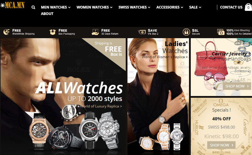 buy replica watches online usa