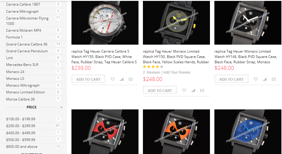 replica tag heuer watches swiss movement sale